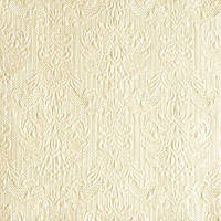 """Салфетки бумажные декоративные """" Elegance Pearl Cream   """""""