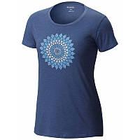 Женская футболка Columbia AZTEC™ MEDALLION SHORT SLEEVE TEE сиреневая AK1900 508