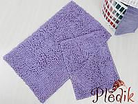 Набор ковриков для ванной хлопок 60х100+45х60 DROP LILA