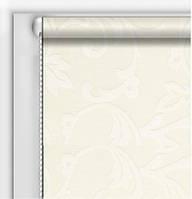 Готовые рулонные шторы Классические Декор Белый