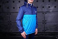 Куртка анорак Nike синяя