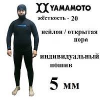 Индивидуальный пошив гидрокостюма 5мм Yamamoto 20  нейлон   открытая пора   короткие штаны f6d65dc9fe7bb