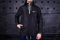 Мужская куртка анорак Nike President черная