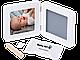 Набор для создания отпечатка ручки или ножки + фоторамка My Baby Touch Rounded Frame, Baby Art, фото 2
