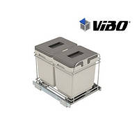 Сортер для мусора / 2 ведра / VIBO (Италия)