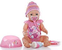 Оригинал.  Интерактивная кукла Baby Born Очаровательная малышка Zapf Creation 822005