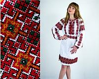 """Платье с геометрической вышивкой  """"Одарка"""""""
