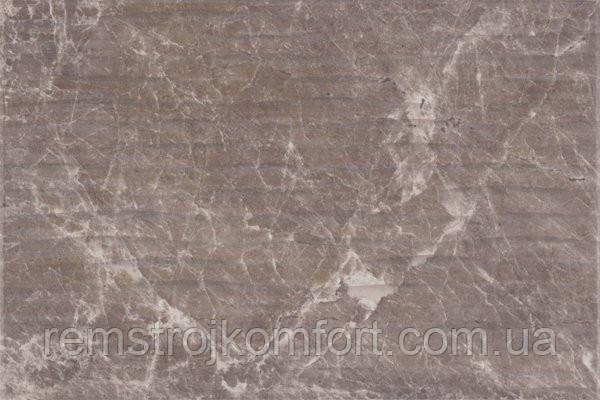 Плитка для стены Opoczno Nizza браун структура 300x450