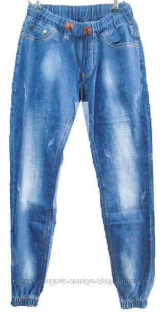 Мужские джинсы 912 на резинке манжеты (деми)