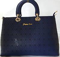 Красивая сумка в бизнес стиле с перфорацией Farfalla Rosso Качество!