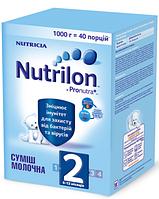 Молочная смесь Nutrilon ® 2 Pro Nutra + 1000г (картон) Суміш молочна суха