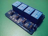 Релейний модуль 5В 4 каналу Arduino, фото 1
