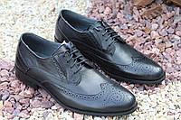 Мужские стильные туфли из натуральной кожи высшего качества, фото 1