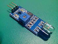 ИК датчик обхода препятствий, Arduino