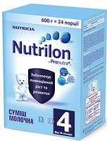 Молочная смесь Nutrilon ® 4 Pro Nutra + 600г
