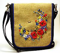 Женская джинсовая сумочка Милена