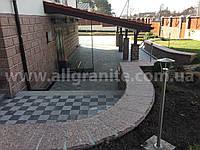 Декоративная облицовка площадок, парапетов и подпорных стенок