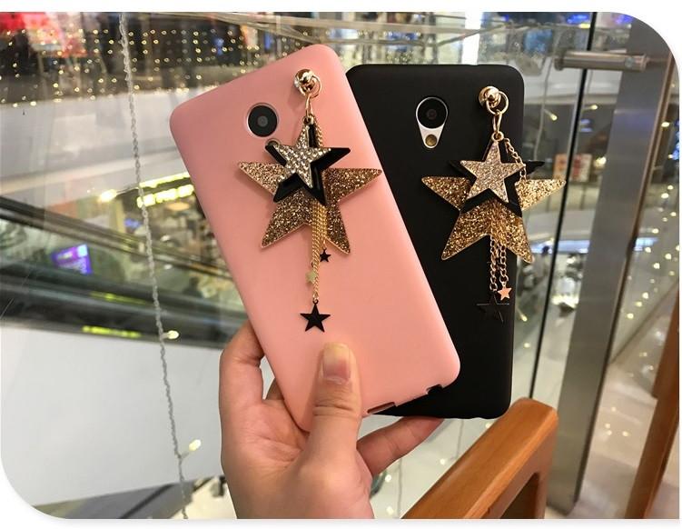 """Meizu M5 NOTE оригинальный противоударный чехол бампер накладка со стразами камнями для телефона """"STAR CASE"""""""