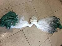 Рыболовная сеть 1 стенка,вылов рыбы от 100 гр до 15 кг