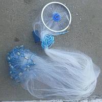 Парашют рыболовный.Кастинговая сеть из лески с кольцом (американский тип), диаметр 3,6 метра, доставка во все регионы Украины