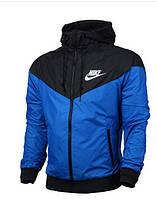 Мужская ветровка виндраннер Nike синяя