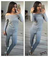 Женский модный ангоровый костюм