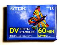 Видиокассета Mini DV TDK
