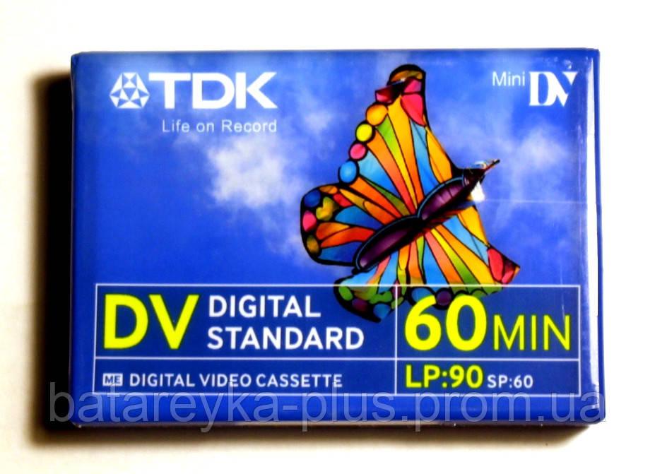 Видиокассета Mini DV TDK - Батарейка Плюс в Ужгороде