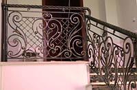 Кованые ограждения лестниц, балконов, террас