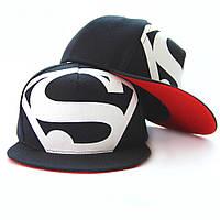 Кепка снепбек S супермен с прямым козырьком , Унисекс