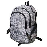 Рюкзак 3ZM камуфляжный белый с тремя отделениями 30х43х15 см