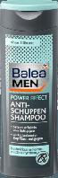 Balea MEN Shampoo Anti-Schuppen power effect Мужской шампунь против перхоти 250 мл (Германия)