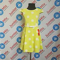 Платье на девочку в горохи под пояс Przybylak, фото 1