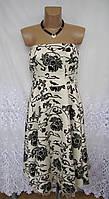Новое стильное платье VILA CLOTHES полиэстер М 46-48 С107N