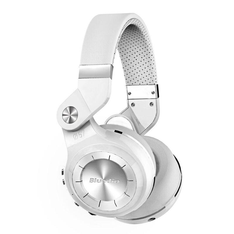 Беспроводные Bluetooth наушники гарнитура Bluedio T2S Turbine. Белые.