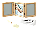 Набор для создания отпечатка ручки или ножки + фоторамка My Baby Touch Wooden Double Frame, Baby Art, фото 3