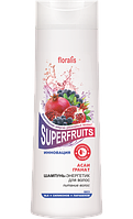 Шампунь-энергетик для волос «Асаи и Гранат» Superfruits