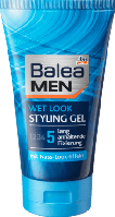 Balea MEN Styling Gel wet look Мужской гель для укладки волос 150 мл (Германия)