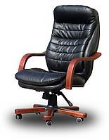 Кресло руководителя Валенсия Вуд (дерево) Valencia Wood кожзам / кожа