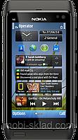 """Копия Nokia N8, дисплей 3.2"""", 2 SIM, Java, FM-радио. Металлический корпус."""