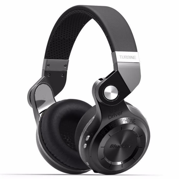 Беспроводные Bluetooth наушники гарнитура Bluedio T2S Turbine. Черные.