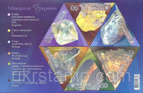 Минералы Украины
