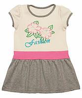 Летнее платье для девочки с вышивкой