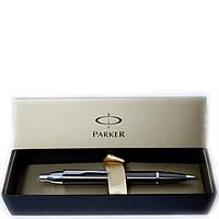 Ручка подарочная Parker IM хромированная сталь