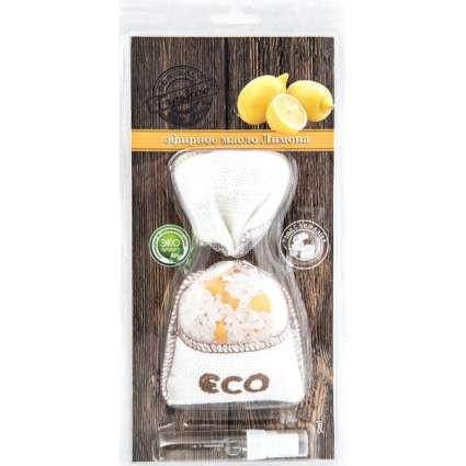 Ароматизатор мешочек с натуральной солью Sea Solt Freshco (Лимон)