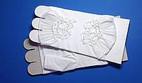 Перчатки без пальчиков, кружево