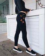 Джинсы Karol Американка с вышивкой 512378