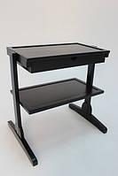 Мебель для мастера визажа, выполнена из массива дерева.