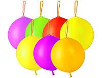 """Воздушные шары 18""""(45см) Панч Бол (без рисунка), неон. В упак: 50шт."""