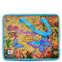 Сумка портфель на молнии с тканевыми ручками Kidis dream and fly